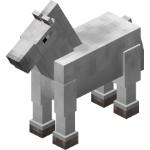 Caballo normal en Minecraft