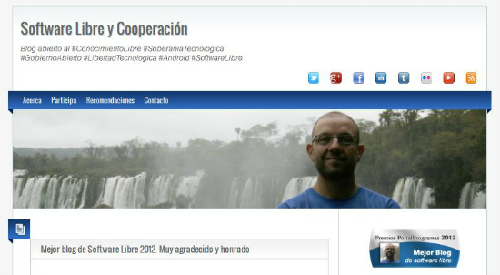 Blog Software libre y cooperación