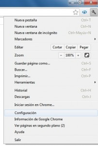 Chrome_Configuración