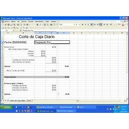 Descargar Excel Cuadre caja diario