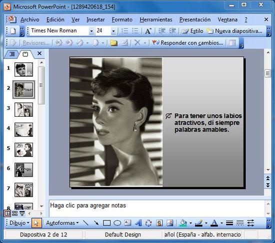 Diapostivas PowerPoint