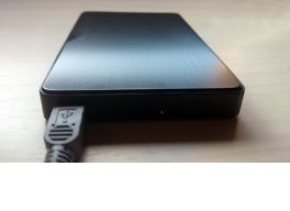 Cómo cambiar la caja de un disco duro externo en milbits