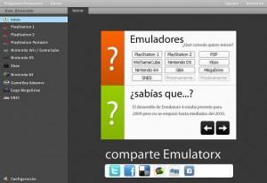 Emulatorx emulador para múltiples consolas
