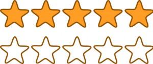 Valoración por estrellas