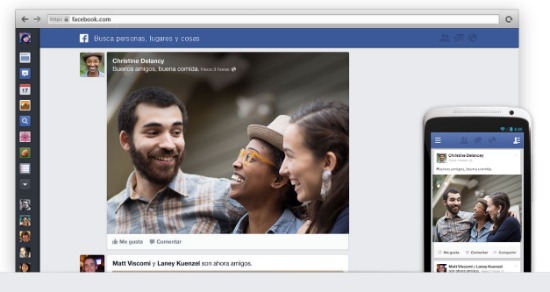 Facebook actualiza el newsfeed