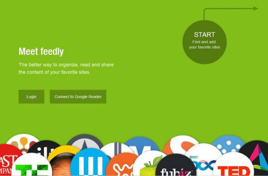 Feedly sincroniza con Google Reader