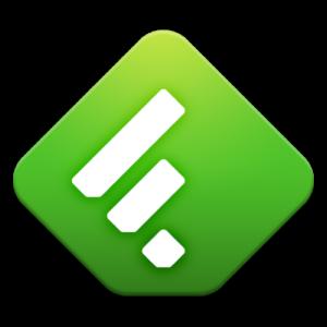 Logo de Feedly