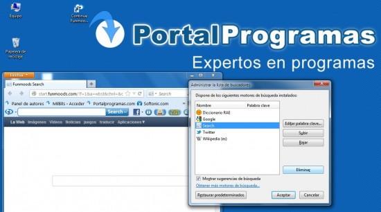Desintalar Funmoods_Firefox