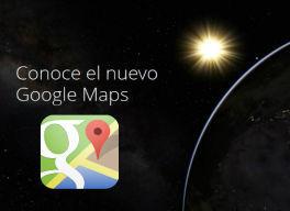 Usando el nuevo Google Maps en milbits