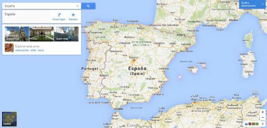Usando El Nuevo Google Maps