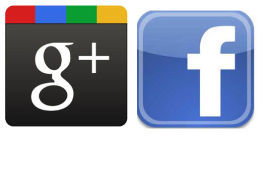 Facebook VS Google Plus en milbits