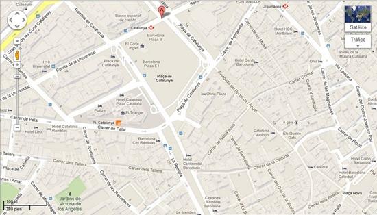 Uno de los servicios de Google Maps