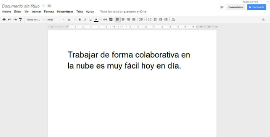Captura de Google Drive