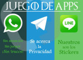 La mayor comparativa entre WhatsApp, Telegram y LINE en milbits