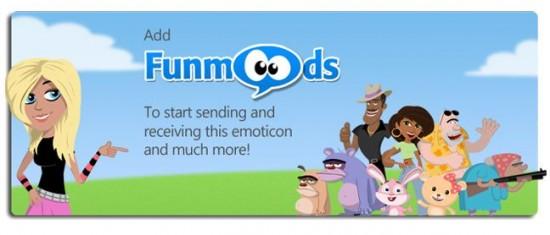 Funmoods página de inicio