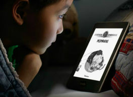 ebooks con luz integrada en milbits