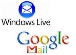Gmail vs Hotmail  en milbits
