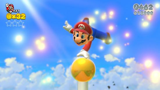 Super Mario 3D World en Wii U