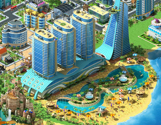 Megapolis alternativa a Simcity Social
