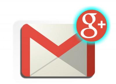 Mensajes Google+ en Gmail