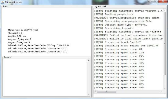 Instalación de Minecraft Server