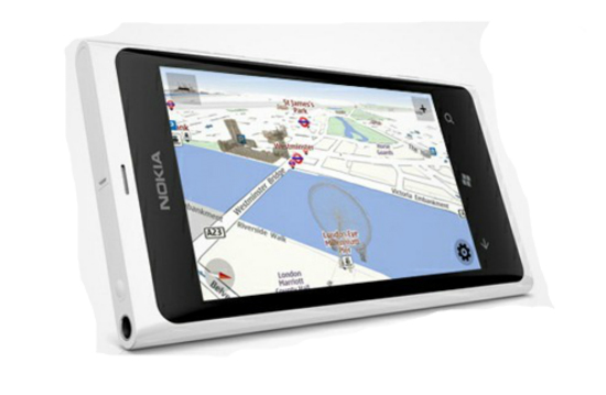 Los mapas de Nokia en Windows Phone 8