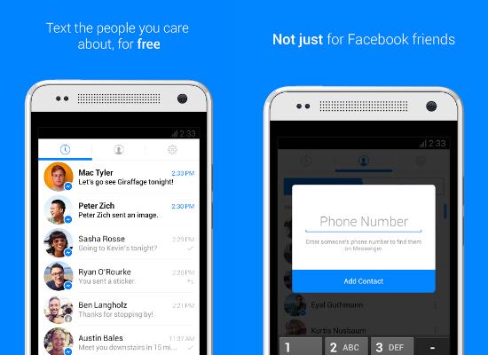 Funciones de Facebook Messenger