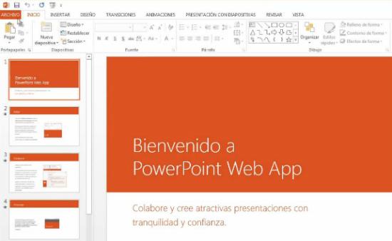 Captura de Office Web Apps