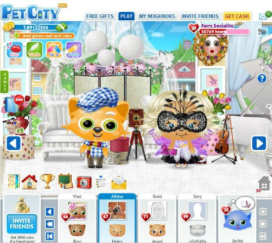 PetCity alternativa a Pet Society