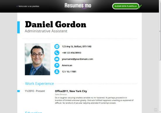 Hacer un CV