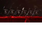 Los trofeos de los ganadores de los Premios PortalProgramas al Software Libre 2015 en milbits