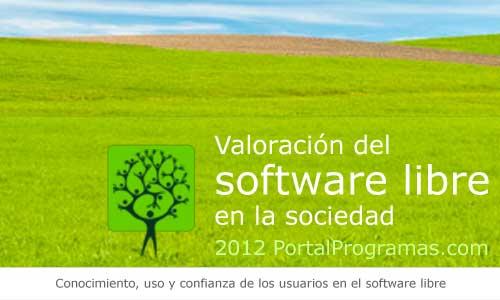 Lo del Informe de Valoración del software libre en la sociedad (2012)