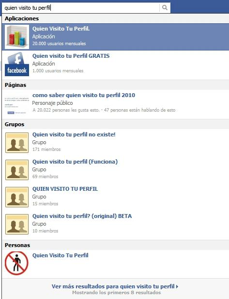 Estilo falsos para Facebook