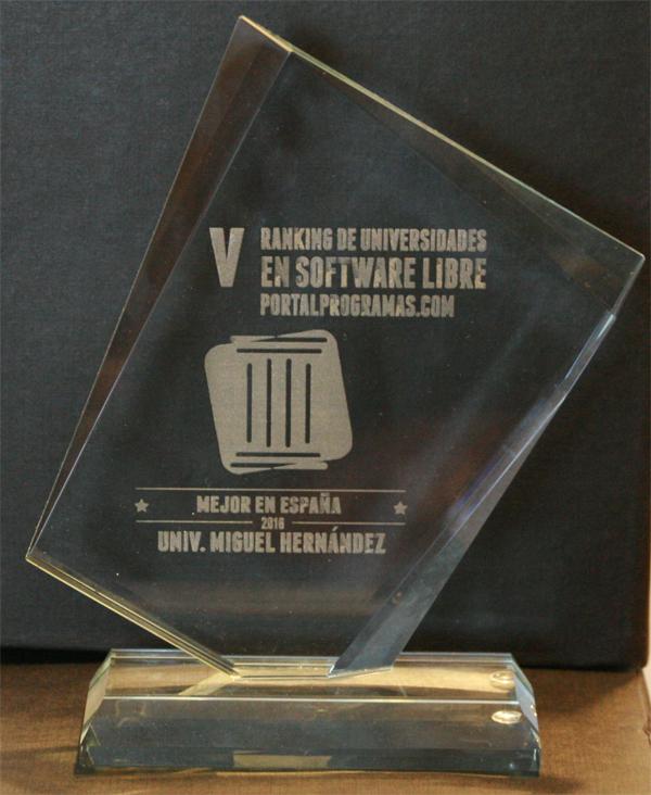 trofeos ganadores rusl 2016 ranking universidades software libre | milbits
