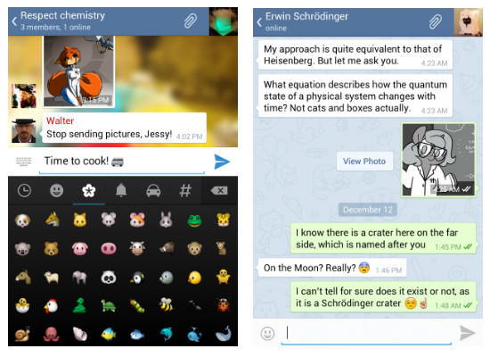Cómo funciona Telegram