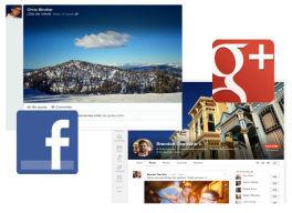 Los cambios en Facebook y Google+ en milbits