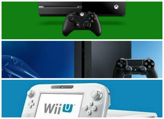 Xbox One vs PS4 vs Wii U