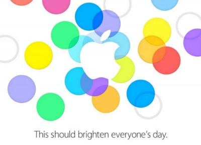 Cartel invitación Apple Keynote 10 sep 2013