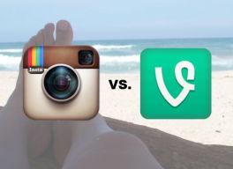 Vine o Instagram Video, ¿Cuál es mejor? - Infografía en milbits