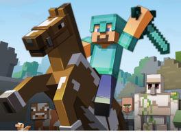 Guía sobre los caballos en Minecraft en milbits