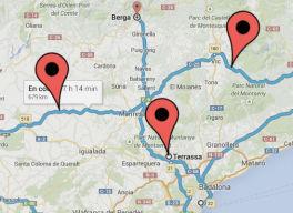 El nuevo Google Maps ya hace rutas de varios destinos en milbits