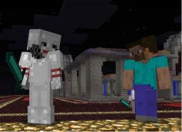 Minecraft online con Hamachi en milbits
