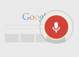 Buscar por voz en Chrome: comando
