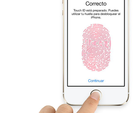 Desbloquear con Touch ID mi iPhone