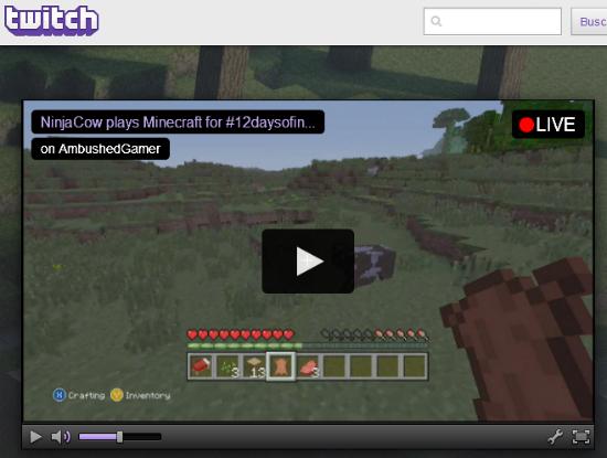 Retransmisión en Twitch.tv