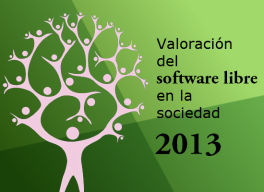 Valoración del software libre (open source) en la sociedad 2013 en milbits