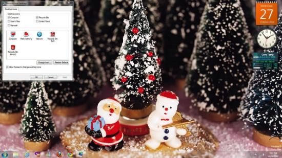 Ya Es Navidad En Mi Ordenador Temas Salvapantallas Iconos