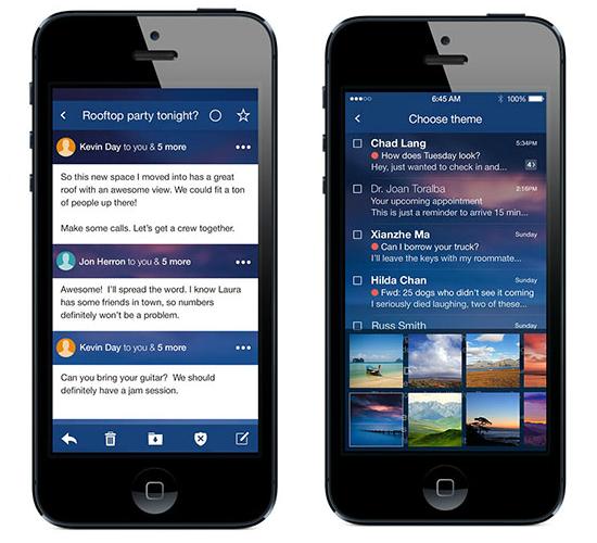 Yahoo!Mail en smartphones