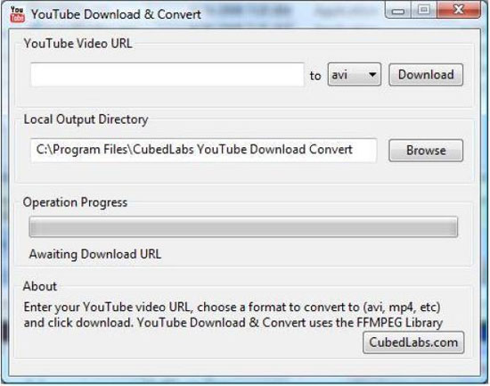Youtube_Download_Convert descargar de Youtube en el formato que quieras