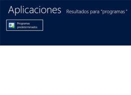 Cómo cambiar programas predeterminados en Windows 8 en milbits